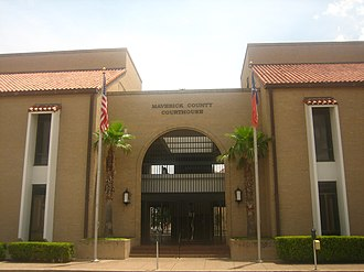 Maverick County, Texas - The new county courthouse