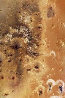 Mawrth Vallis Valley on Mars
