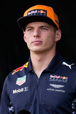 Verstappen tijdens de GP van Maleisië 2017