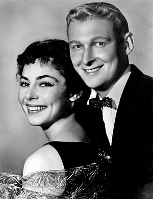 Elaine May - May with performing partner Mike Nichols, 1958