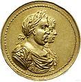 Medal koronacyjny Jana III i Marii Kazimiery 1676.jpg