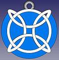 Medalla Castelao 3D FreeCAD.jpg