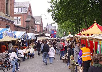 Etterbeek - Etterbeek Medieval Market in 2007