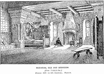 Medieval Bed and Bedroom