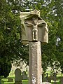 Medieval stone cross in Putley Churchyard - geograph.org.uk - 355628.jpg