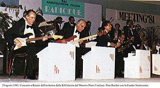 Piero Umiliani - August 29, 1981: Meeting per l'amicizia fra i popoli. Concert in Rimini of the Rai Orchestra directed by Master Piero Umiliani.