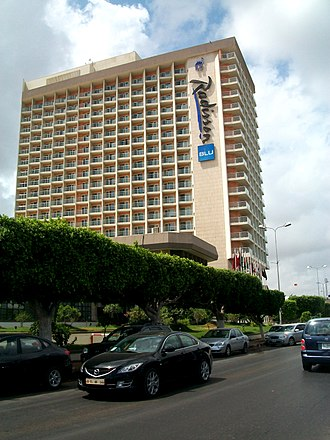 High Council of State (Libya) - Image: Mehari Radisson Blu Hotel Tripoli Libya