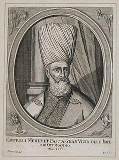 Köprülü Mehmed Pasha Albanian Grand Vizier of the Ottoman Empire