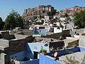 Mehrangarh Fort and Jodhpur city (4080706760).jpg