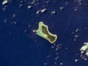 Mejit Island - NASA picture of Mejit Island