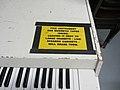 Mellotron 400 caution, Ardent Studios.jpg