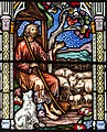 Melton Mowbray, St Mary's church, East window detail (43816521910).jpg