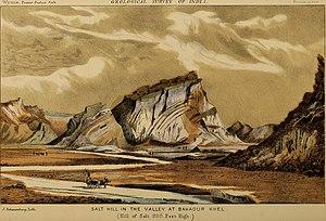 Karak District - Bahadur Khel salt hill