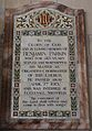 Memorial to Benjamin Parkin in St Oswald's Church, Ashbourne.jpg
