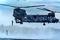 Men from the 23rd Special Tactics Squadron jump out the back of a MH-47 at Wynnehaven Beach, Fla., April 9, 2013.jpg