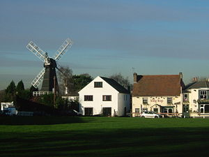 Meopham - Meopham Windmill and Green
