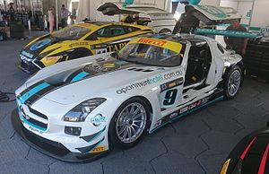 2016 Australian GT Championship - Ash Samardi placed 26th driving a Mercedes-Benz SLS AMG GT3 (pictured) and an Audi R8 LMS
