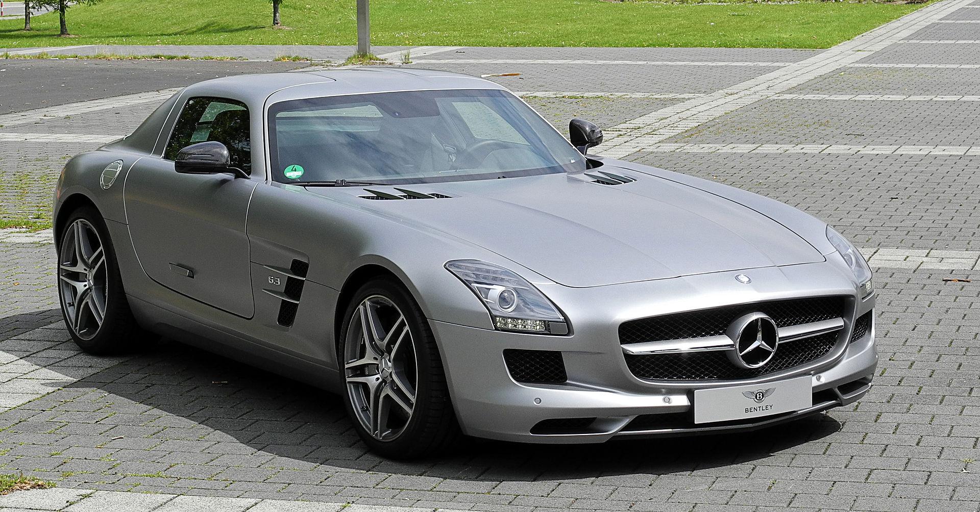 Mercedes Benz Sls Amg Wikipedia La Enciclopedia Libre
