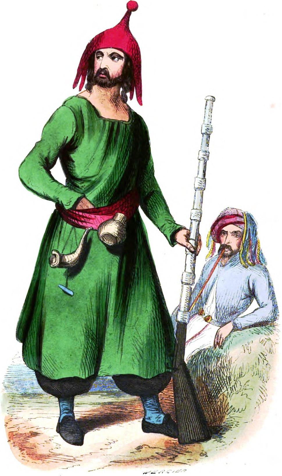 Mercier. Kurde (Asie). Auguste Wahlen. Moeurs, usages et costumes de tous les peuples du monde. 1843
