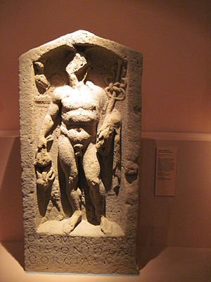 Cissonius - Relief of Mercury Cissonius from the Palatinate.