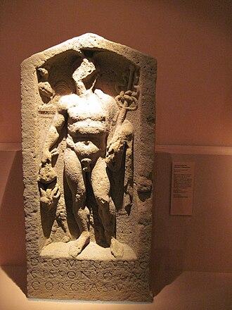 Cissonius - Relief of Mercury Cissonius from the Palatinate.