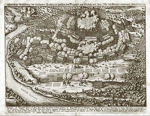 Battle of Wimpfen - Image: Merian Theatrum Europaeum Schlacht bei Wimpfen 1622