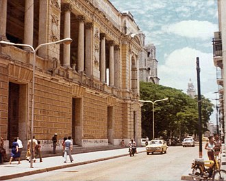 Mérida, Yucatán - Mérida city center in 1981