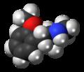 Methoxyphenamine molecule spacefill.png