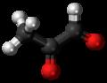 Methylglyoxal molecule ball.png