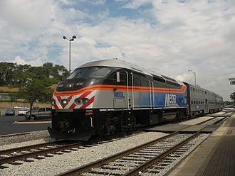 MPI MPXpress - An MP36PH-3S in Metra livery. Metra is the only railroad that ordered this model.