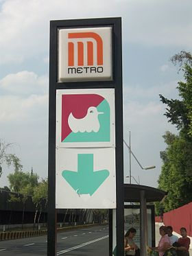 Image illustrative de l'article Candelaria (métro de Mexico)