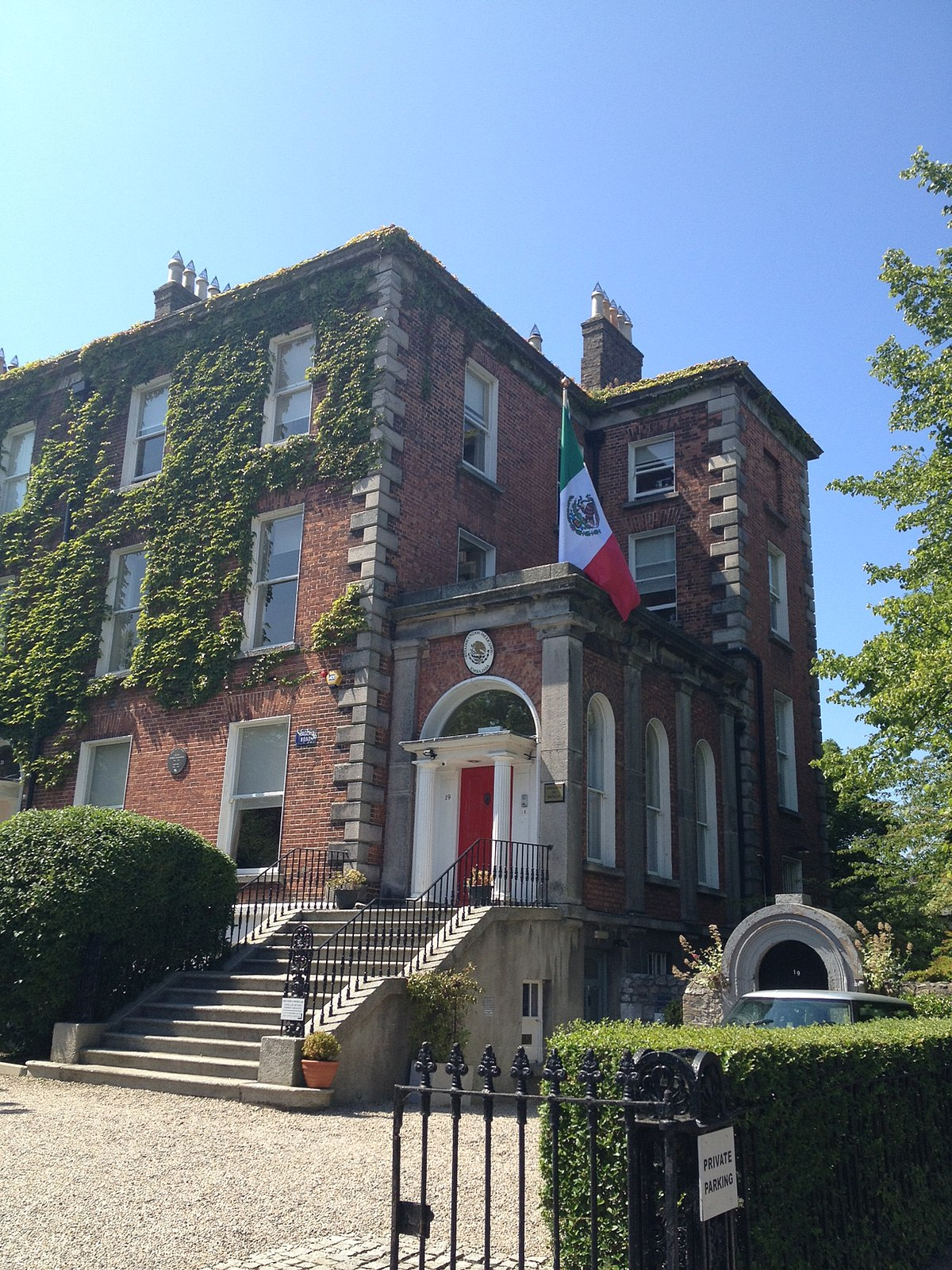 List Of Diplomatic Missions In Ireland