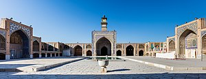 Seyyed mosque (Isfahan) - The Shabestan of Seyyed Mosque