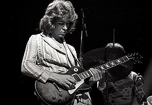 Mick Taylor - Taylor performing with The Rolling Stones