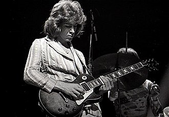 The Rolling Stones - Mick Taylor (pictured in 1972) is, in part, responsible for the Stones' new sound in the early 1970s. Replacing Brian Jones in 1969, Taylor came from John Mayall's Bluesbreakers and was a member of the Stones until 1974