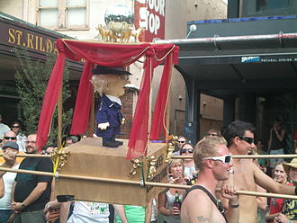 Christine Nixon - The gay community showed their respect for Nixon in marches at the 2009 Midsumma festival.