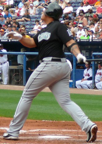Miguel Cabrera - Cabrera with the Florida Marlins in 2007