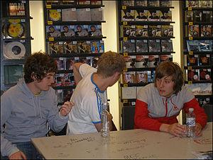 Milburn (band) - Joe Carnall, Louis Carnall and Tom Rowley (Joe Green not pictured)