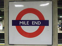 Mile End stn roundel.JPG
