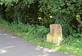Milestone beside the old Hollyhead road, Dunchurch - geograph.org.uk - 1437564.jpg