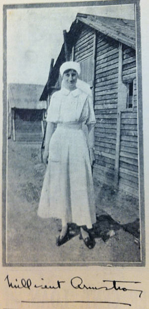 Millicent Armstrong - Armstrong, c. 1916