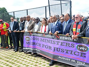 National Action Network - The Ministers March for Justice