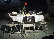 Missing Man Table at Eglin AFB