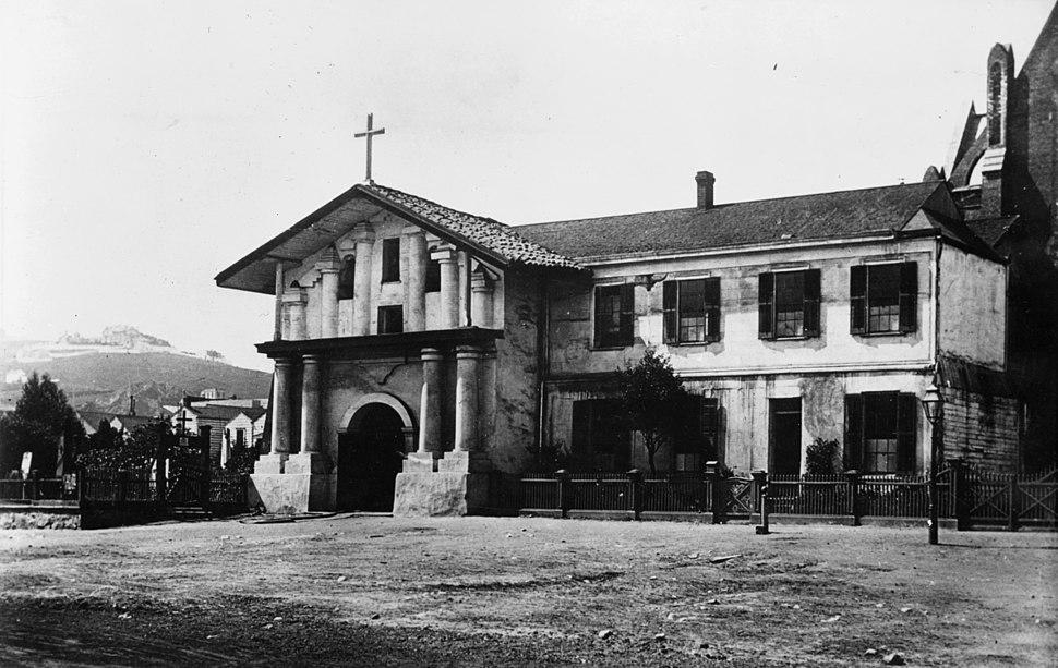 Mission San Francisco de Asis old