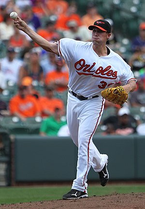 Mitch Atkins - Atkins with the Baltimore Orioles