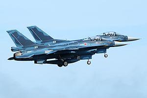 3rd Tactical Fighter Squadron (JASDF) - 3 Squadron Mitsubishi F-2As (2011)