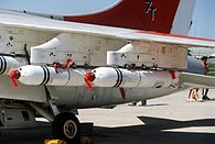 Mk 20 cluster bombs on A-7 at NAS Pax 1984.JPEG