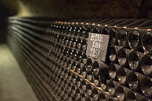 Moët & Chandon - Bottles in the caves