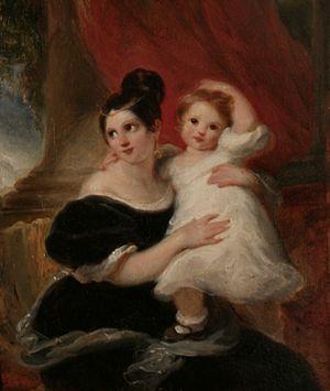 Cornelis Kruseman - Image: Moeder&Kind