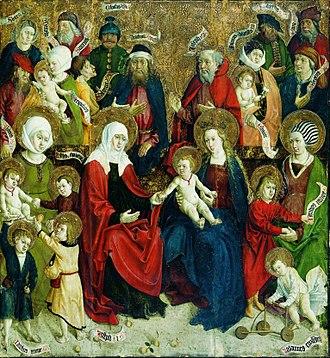 Holy Kinship - Image: Mojster iz Okoličnega Sv. sorodstvo